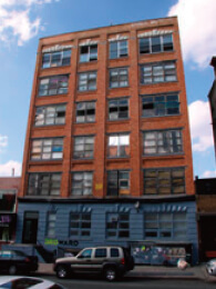 はじめの頃のNYスタジオの入っていたビル このビルの2 階の隅っこにありました