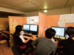代官山にあった初代カイカイキキアニメーションスタジオ