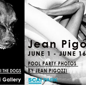 Jean Pigozzi「CHARLES AND SAATCHI THE DOGS」