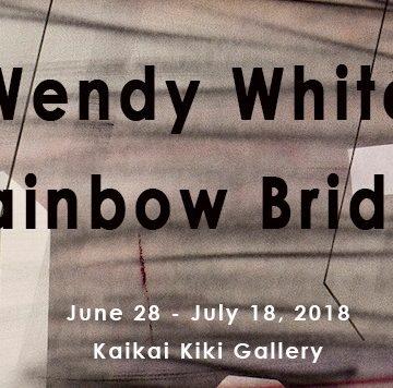 Wendy White「RAINBOW BRIDGE」