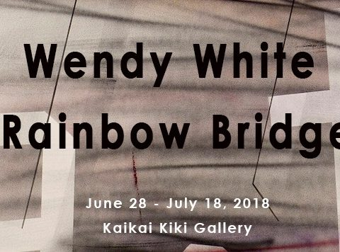 Wendy White「RAINBOW BRIDGE」
